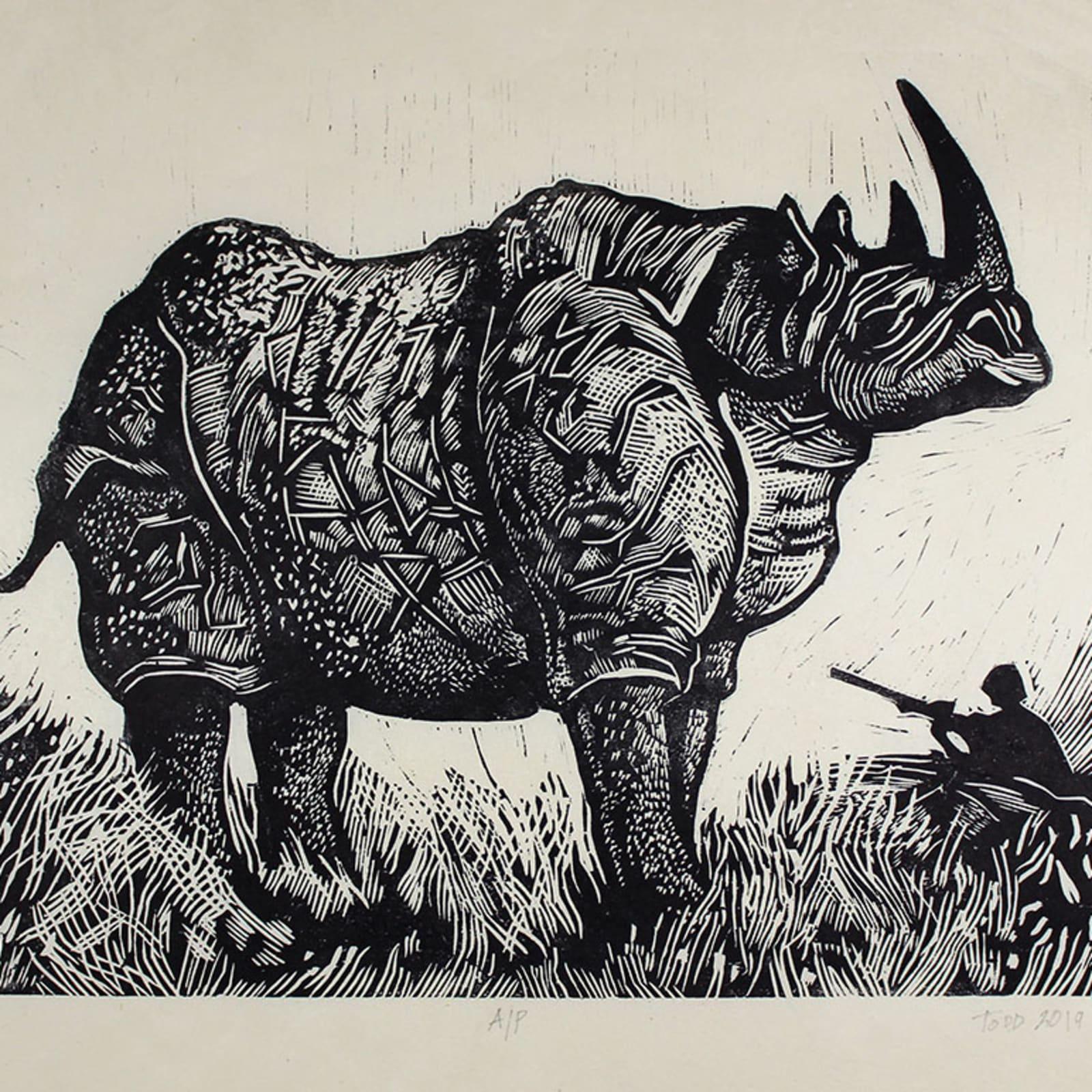 James G. Todd, Rhino, 2019