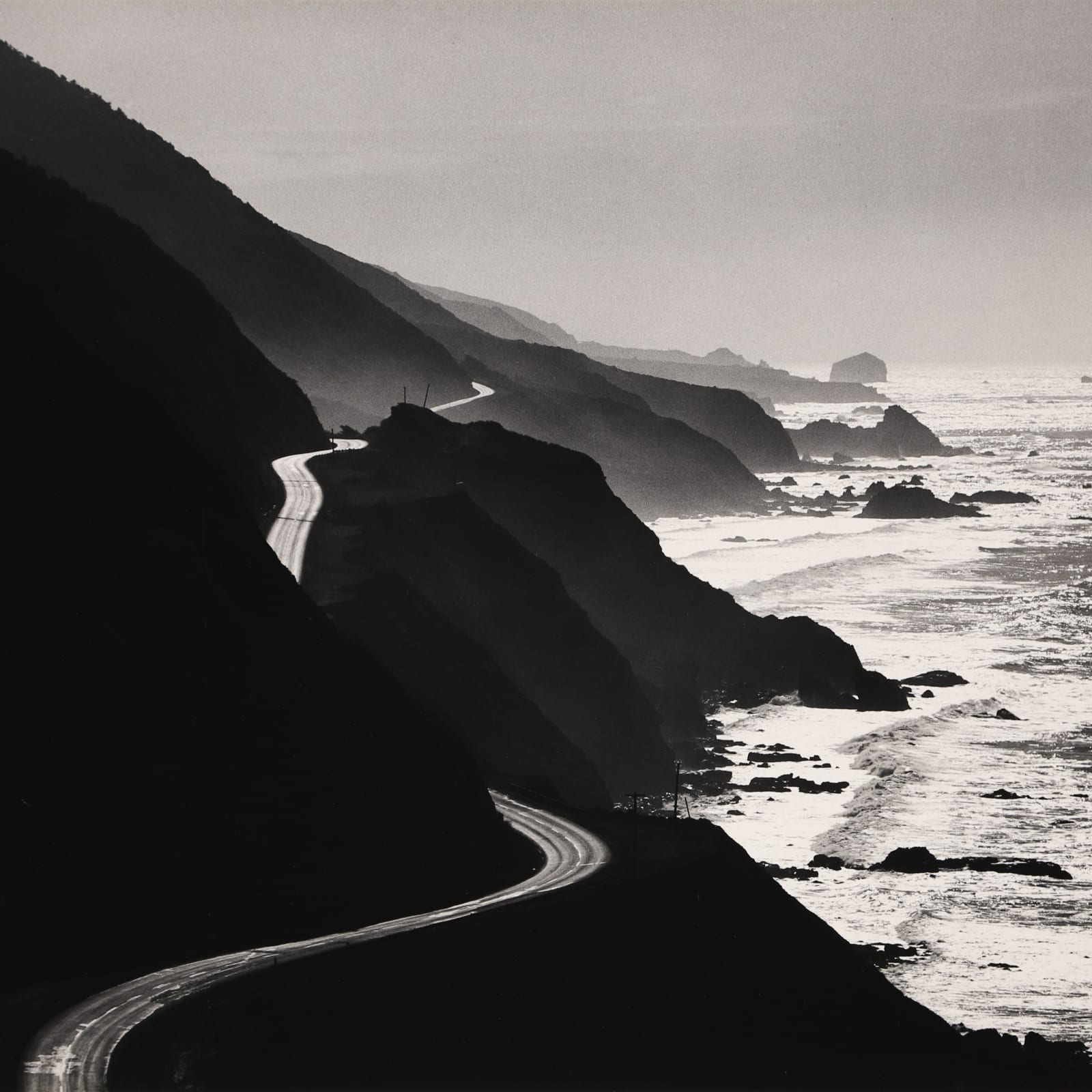 Henry Gilpin  Highway 1, 1967  Silver Gelatin  10 5/8 x 13 5/8 in