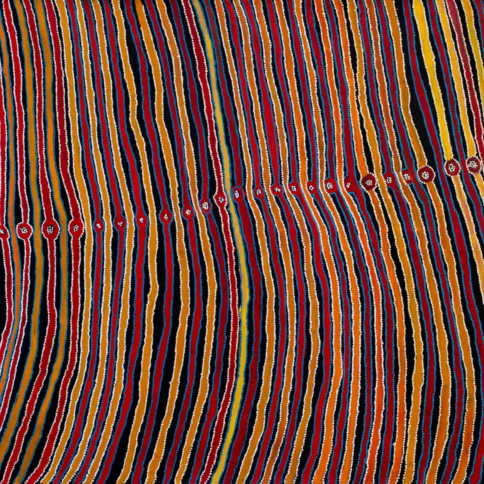 Lennard Walker  Tali, 2019  Acrylic on linen  200 x 137 cm