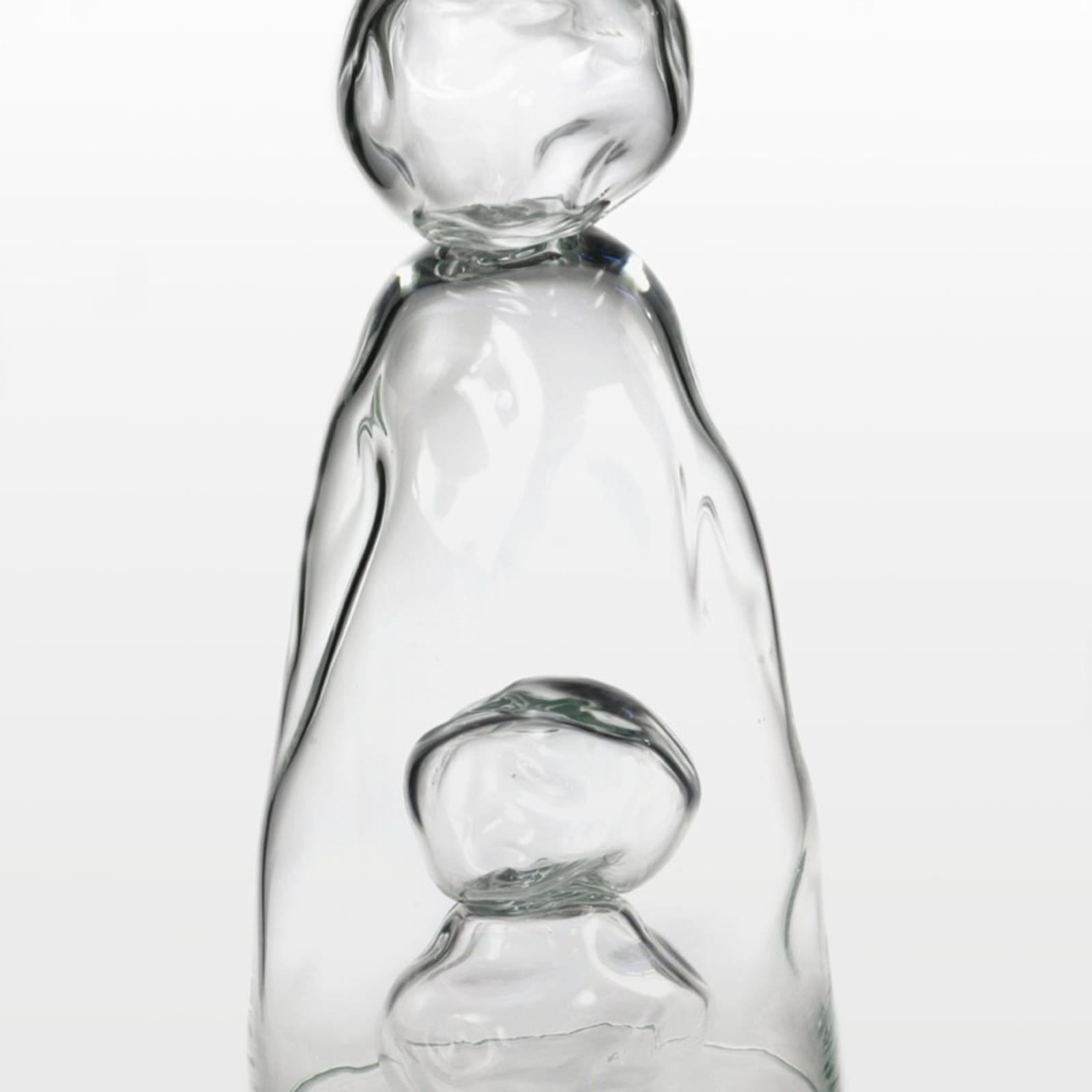 Tristano di Robilant  Sisifo Doppio, 2013  Glass  68 x 34 x 34 cm