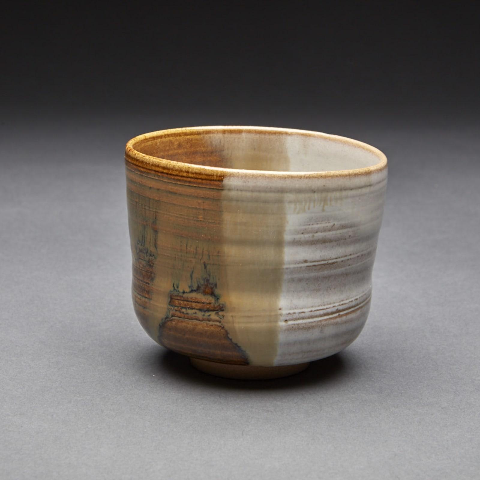Takatori  71, 2016  Tenmoku Glazed Porcelain  10 x 8.7 x 8.7 cm