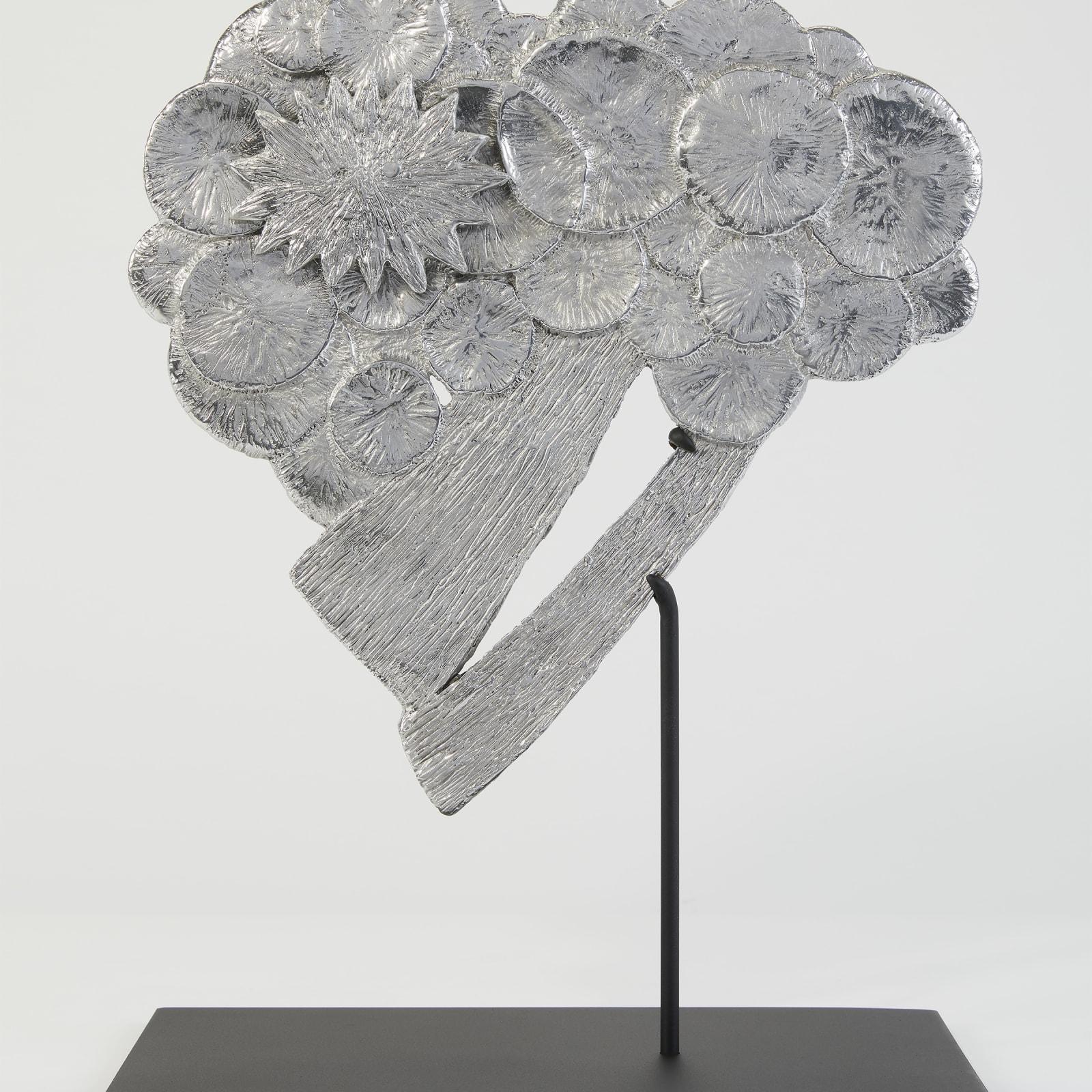 Kiki Smith  Cloudburst, 2017  Aluminium  27.9 x 28.5 x 28.5 cm  Edition 6  Edition of 13 + 2 APs