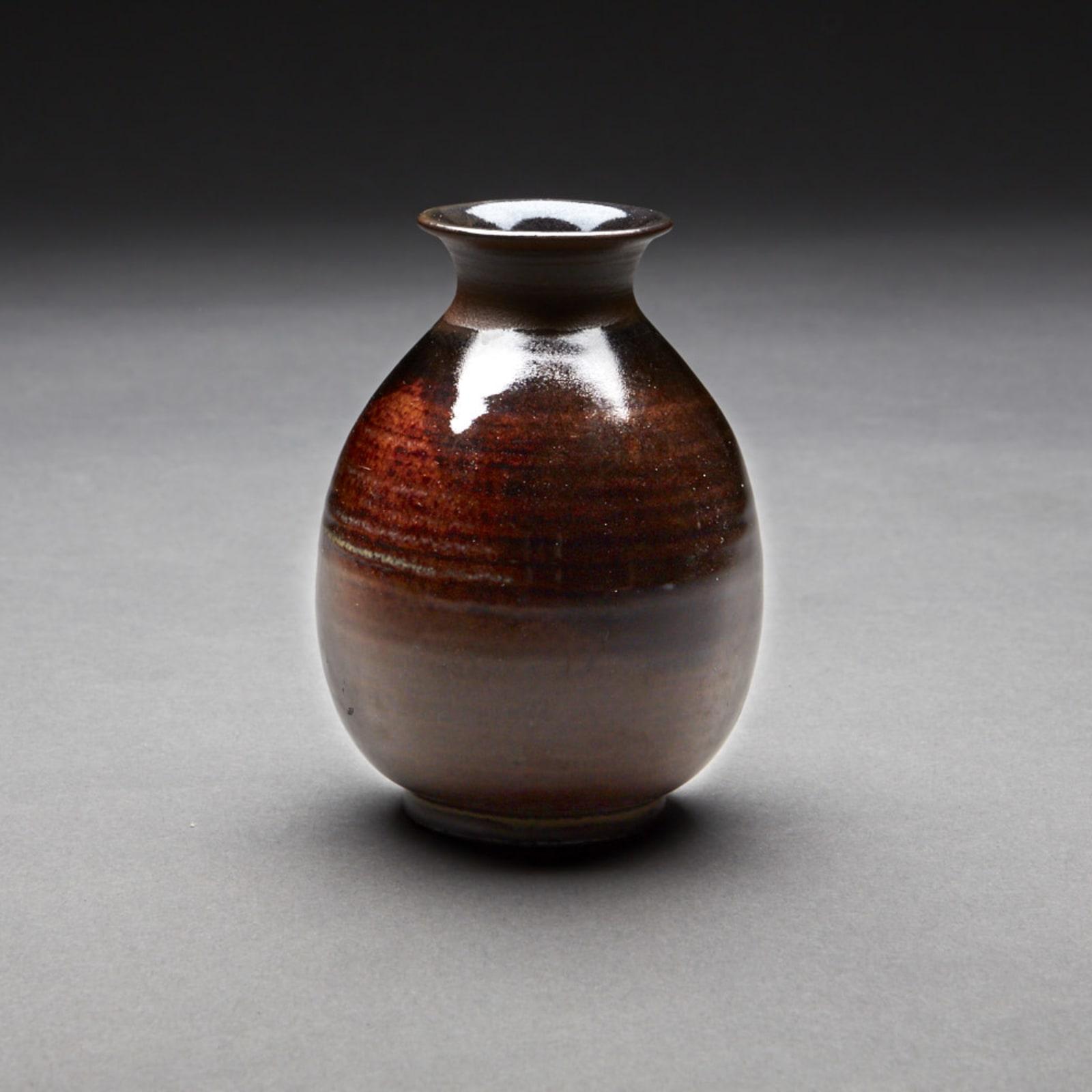 Takatori  39 , 2016  Tenmoku Glazed Porcelain  10.8 x 7.8 x 7.8 cm