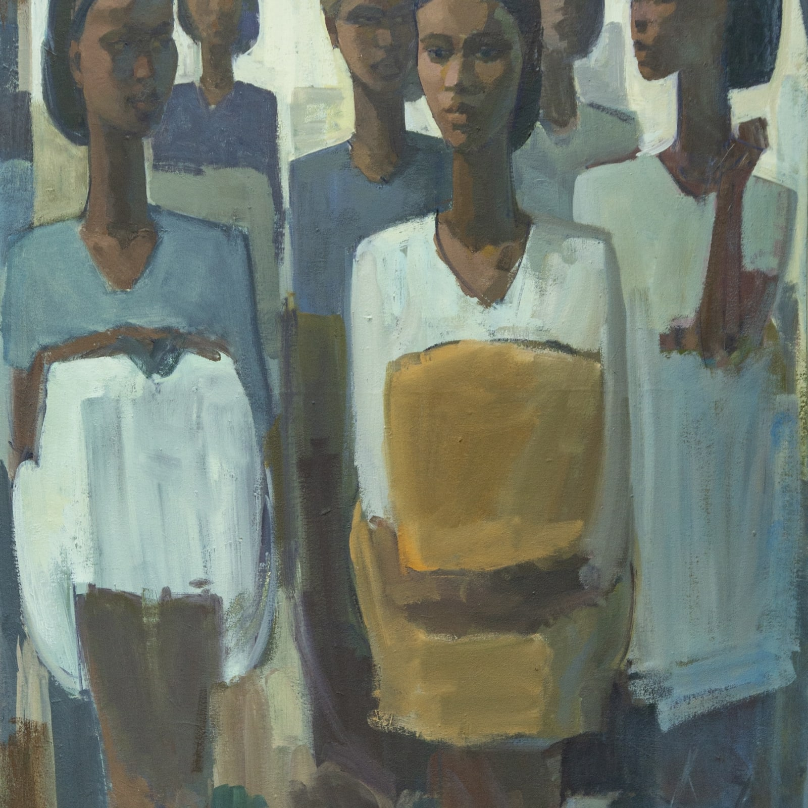 Tadesse Mesfin Pillars of Life: Gathering, 2019