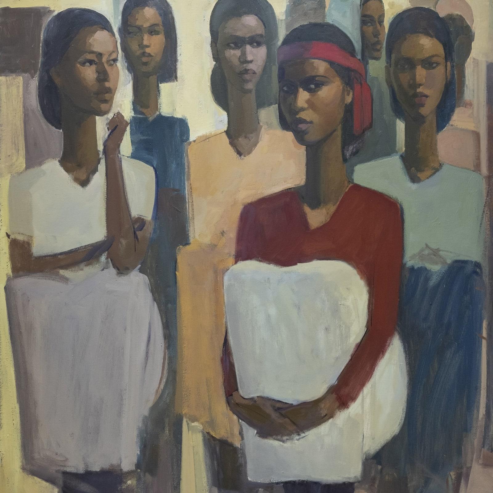 Tadesse Mesfin, Pillars of Life: Expectations II, 2020