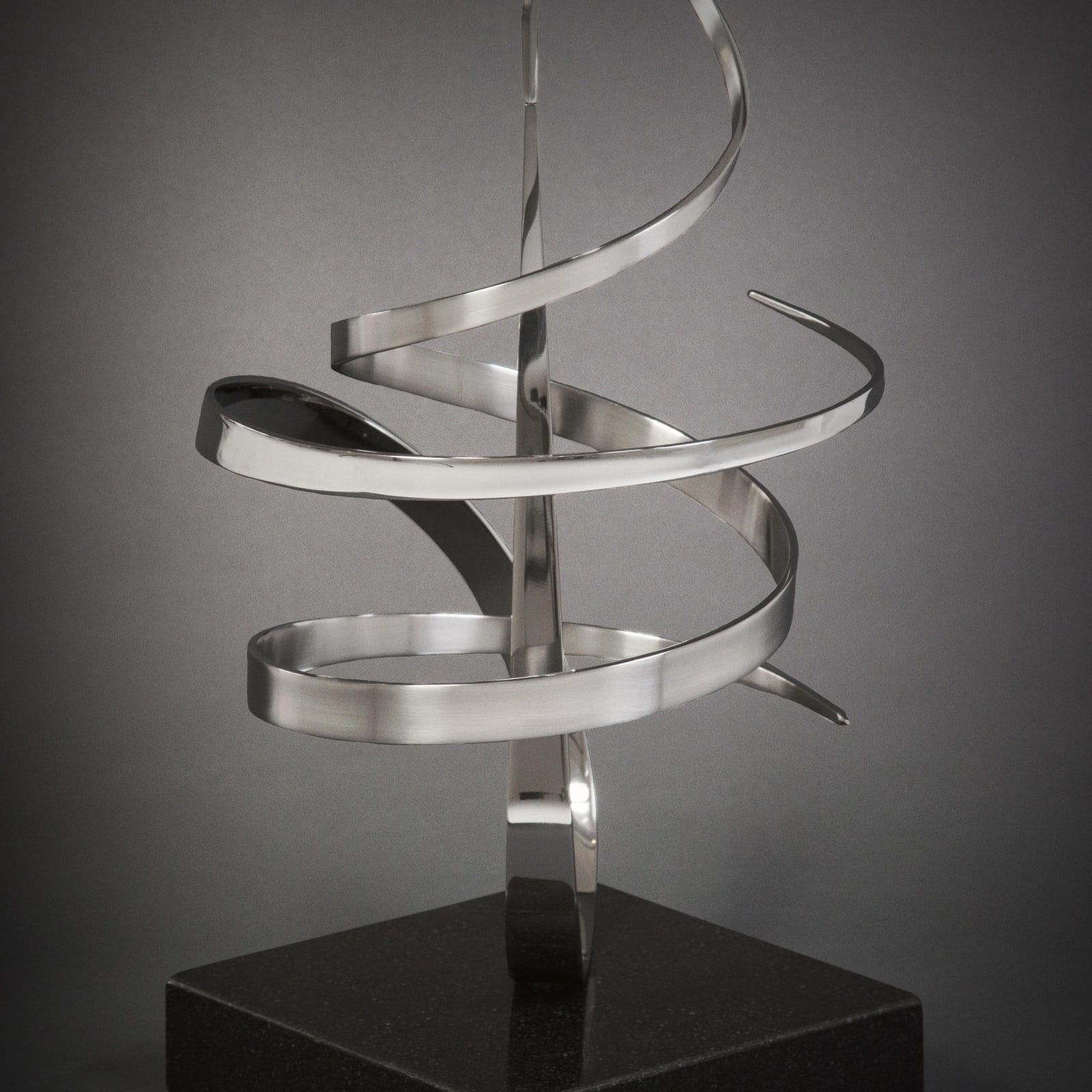 Gary Traczyk ORBIT Stainless Steel on Granite