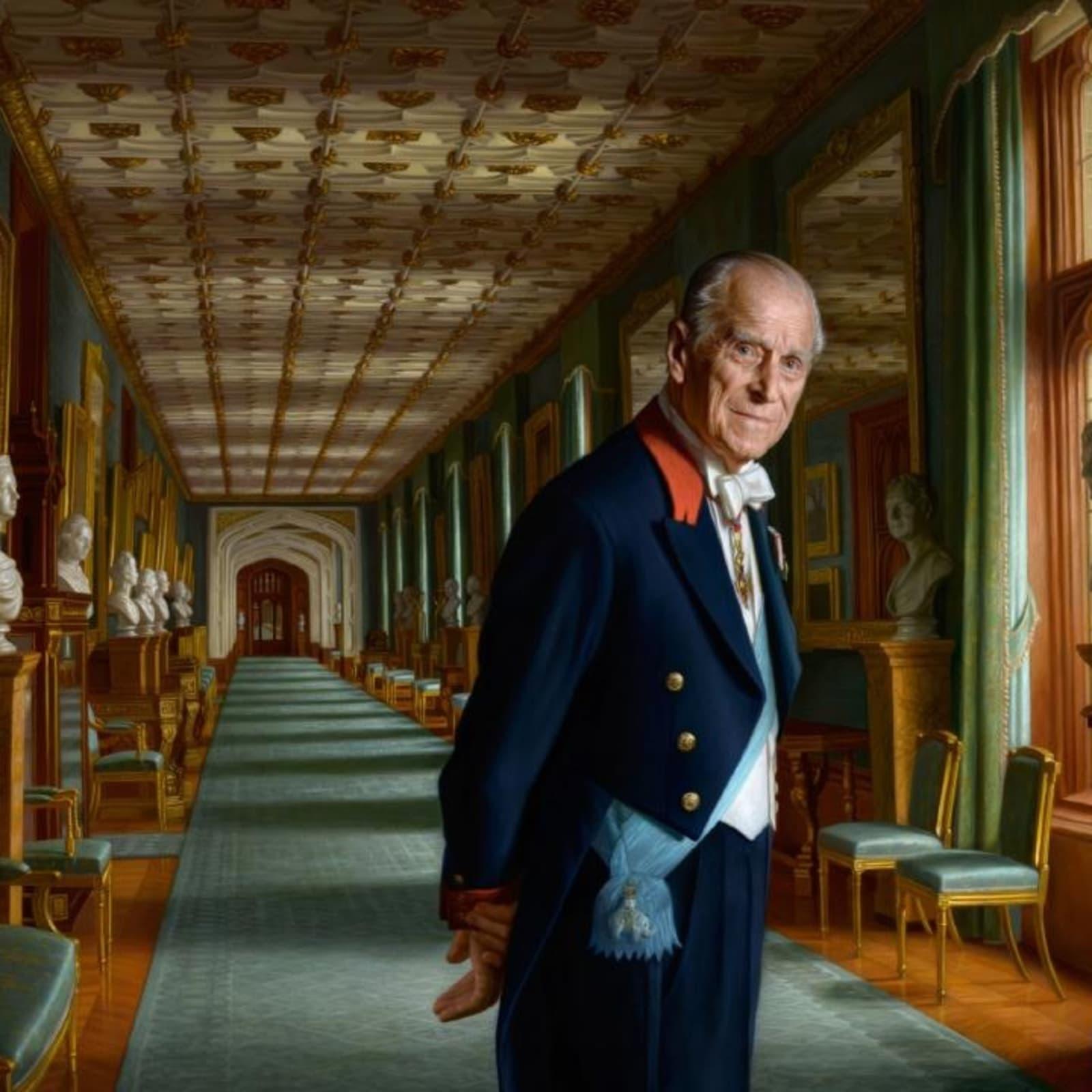 Ralph Heimans, Portrait of HRH The Duke of Edinburgh, 2017 Oil on canvas, 160 x 230cm © Ralph Heimans
