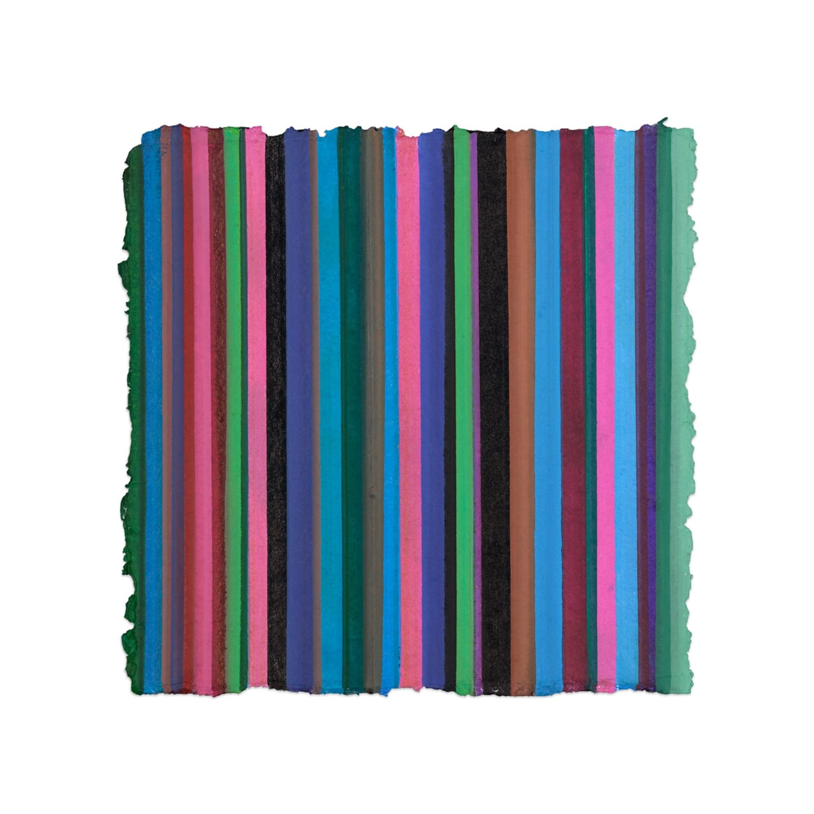 Eugénie Paultre 2019 Untitled lines colours galerie Erna Hecey