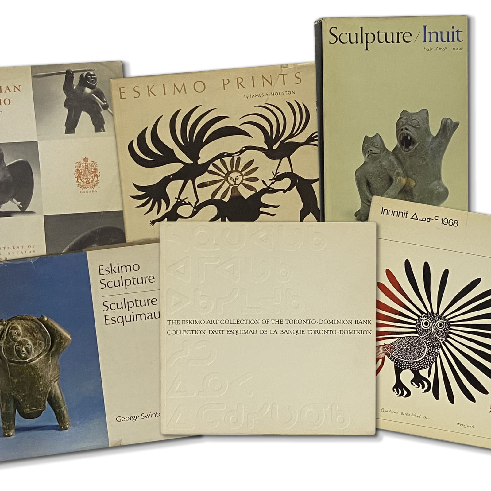 Lot 84  Quantity of Inuit Art Publications  Estimate: $300 ⁠— $500  PRICE REALIZED: $390