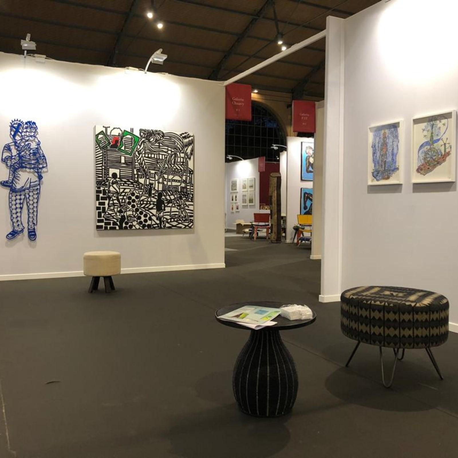 AKAA, Galerie MAM / ATISS Paris, 2019 Stand B9