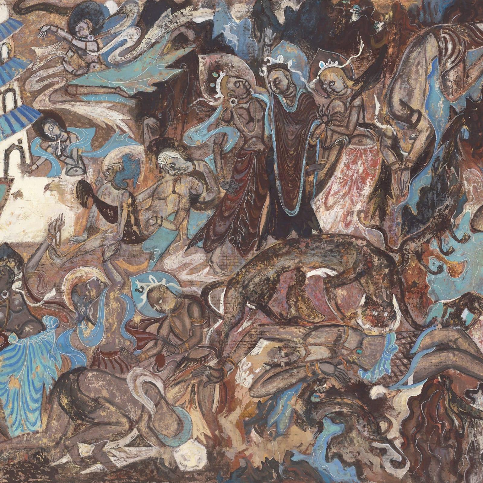 Li Jin 李津, The Hungry Tigress 舍身饲虎, 1981