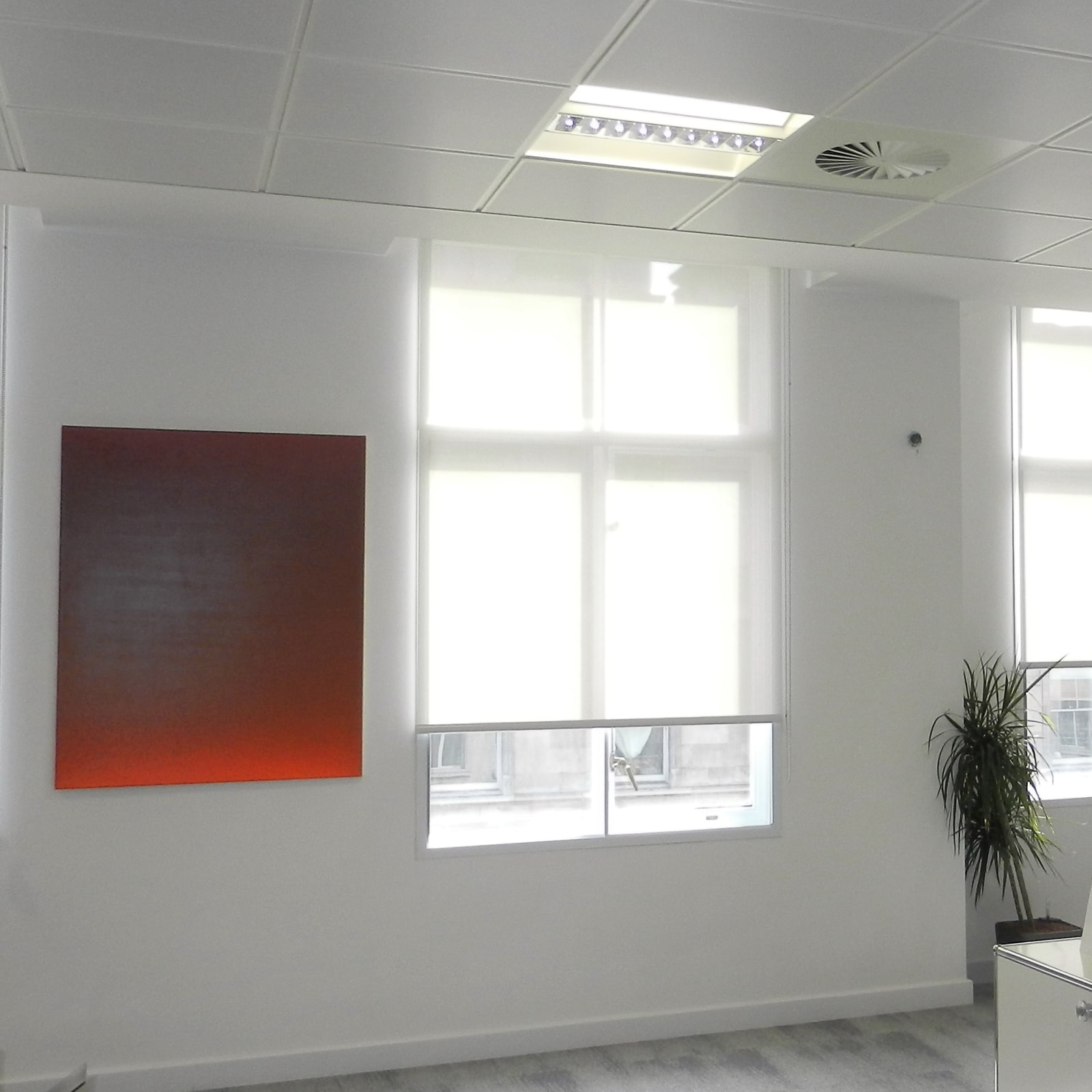 Michael Luther From Orange to Red, Private Office, London