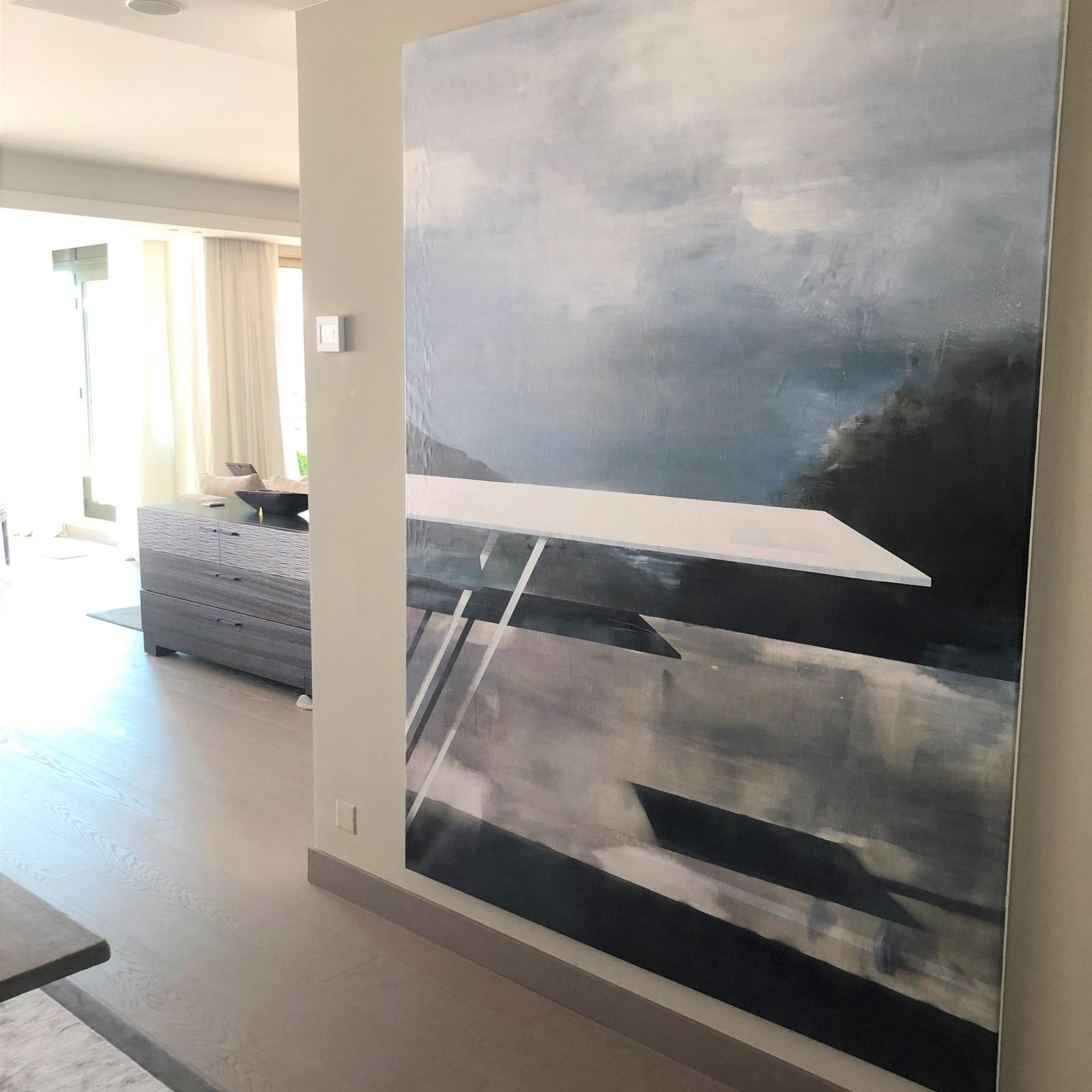 Stephane Villafane in a Monaco apartment