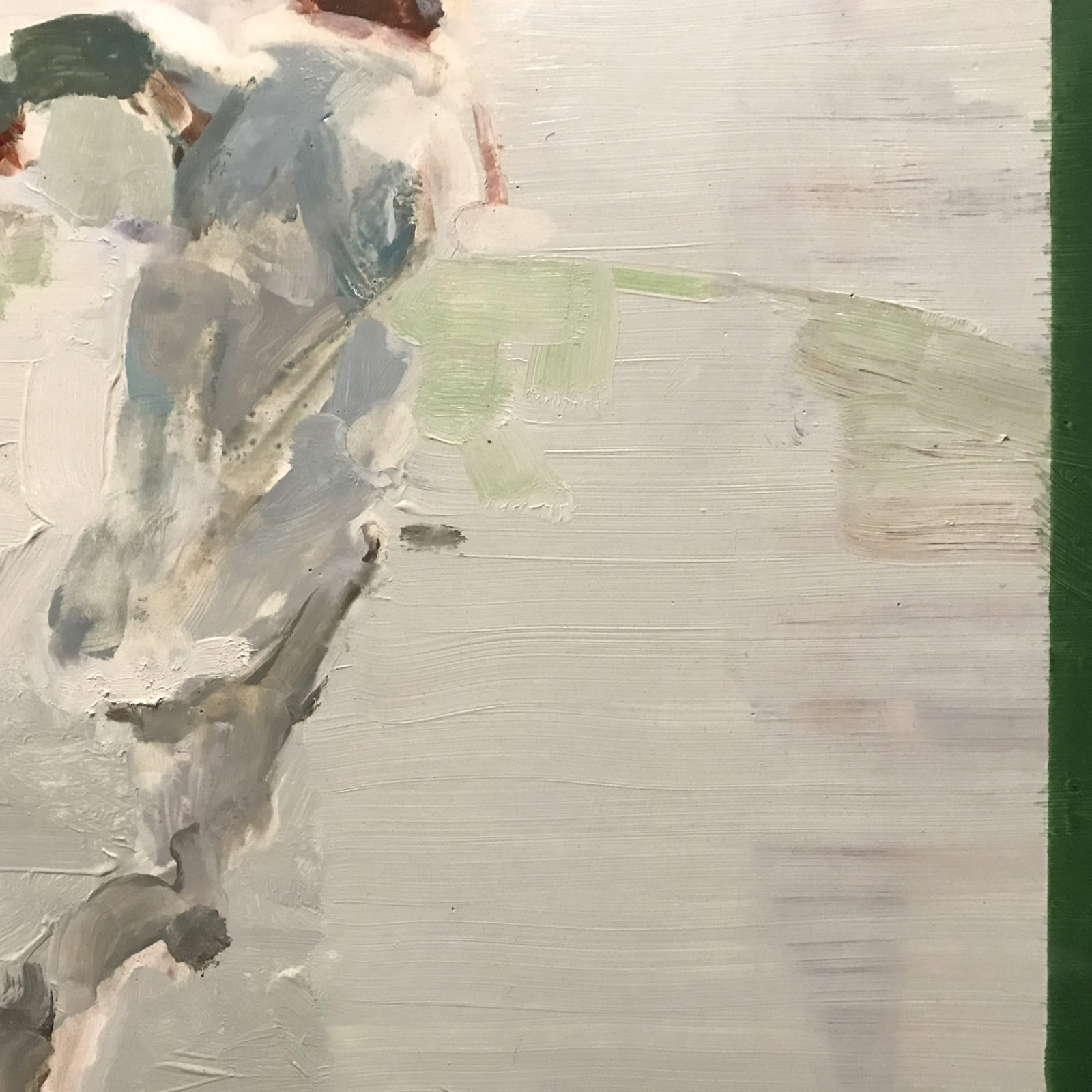 Conor Foy  Boundary  Oil on birch panel  41 x 61 cm
