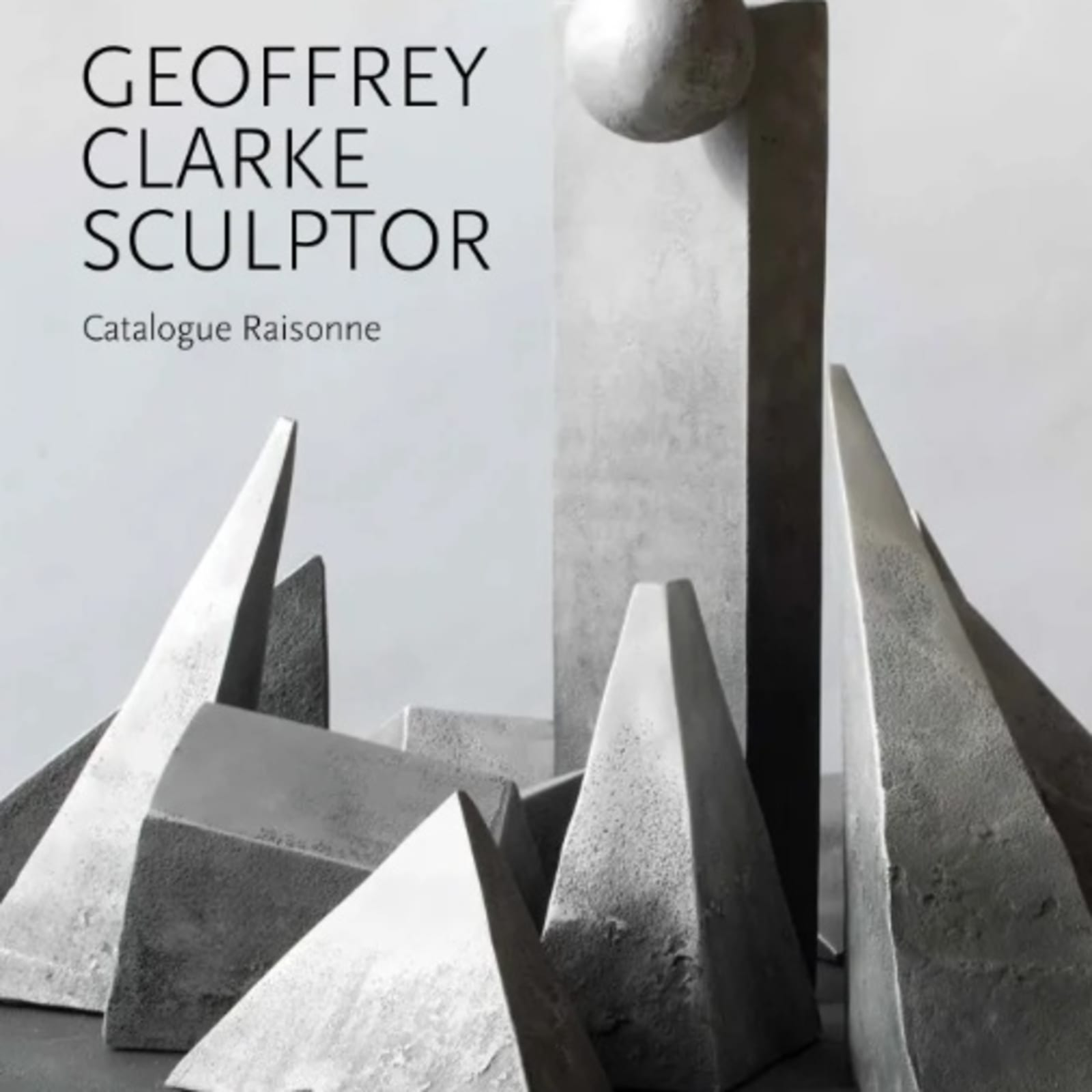 Installation view of Geoffrey Clarke: A Retrospective