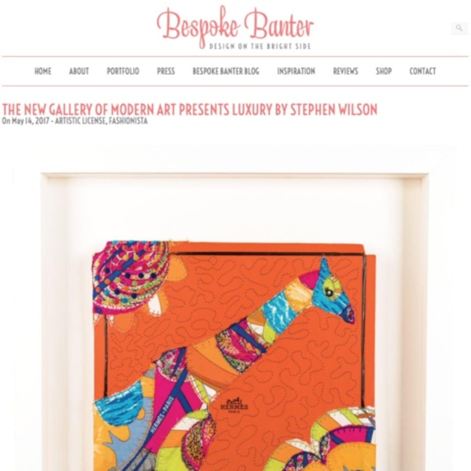 The New Gallery of Modern Art Presents Stephen Wilson Studio