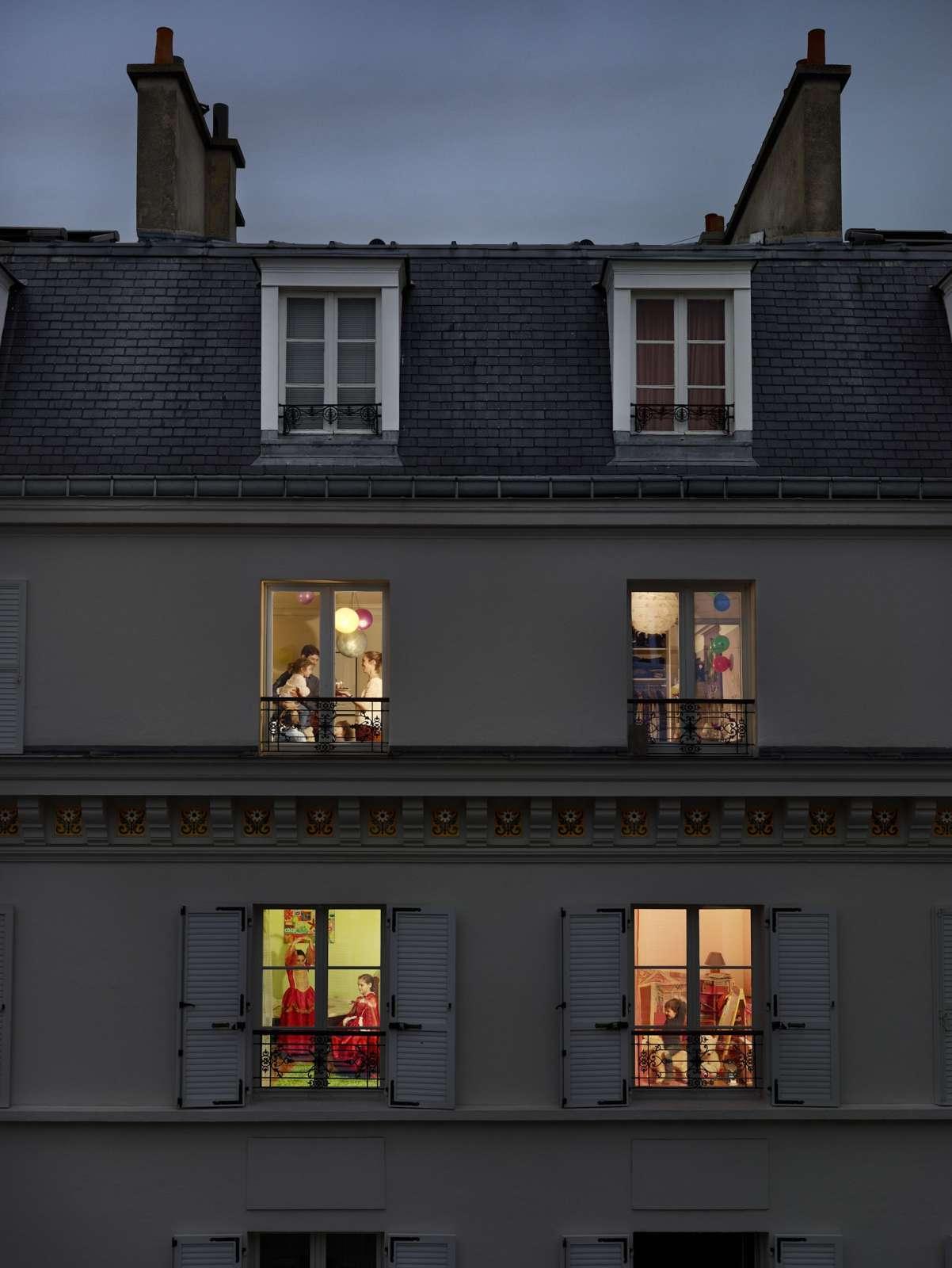 Gail Albert-Halaban, Rue Lemercier, Paris, 17E, Le 17 Novembre, 2013