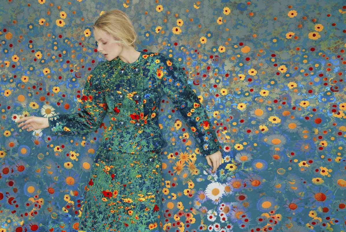 Eniko in Flowers, 2019