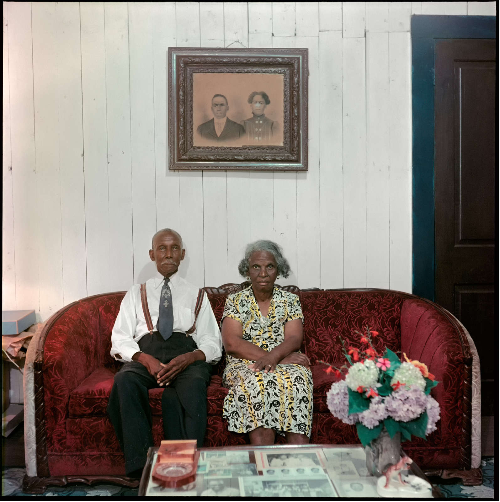 Mr. and Mrs. Albert Thornton, Mobile, Alabama, (37.003), 1956