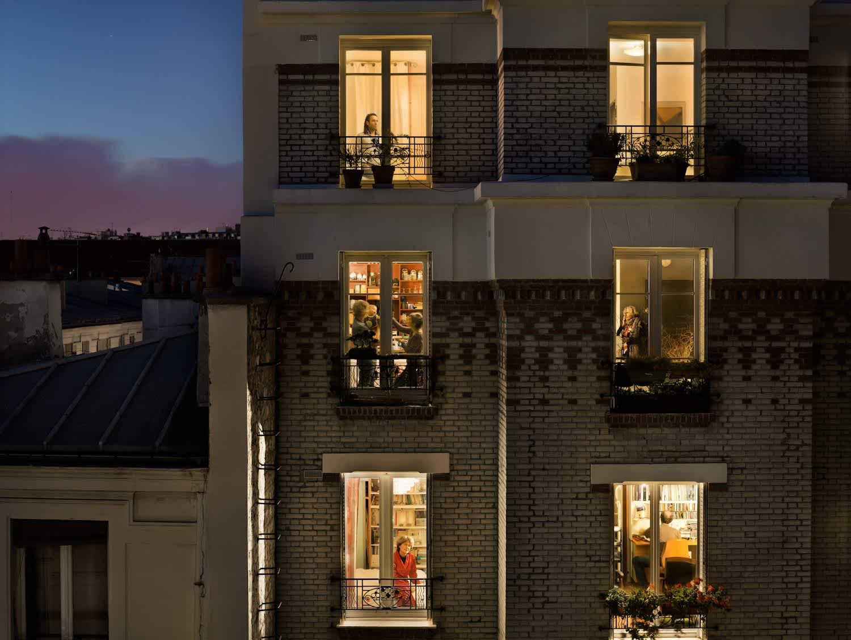 Rue de Belleville, Paris, 20E, Le 1 Novembre, 2012