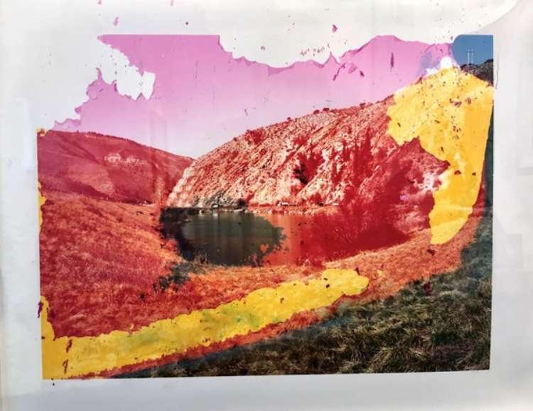 Matthew Brandt, Wilma Lake, CA 1, 2008