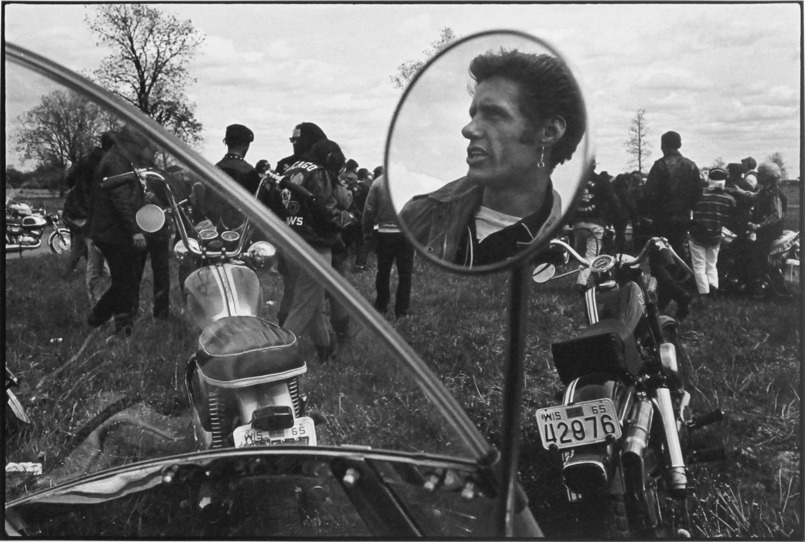 Cal, Elkhorn, Wisconsin, The Bikeriders Portfolio, 1966