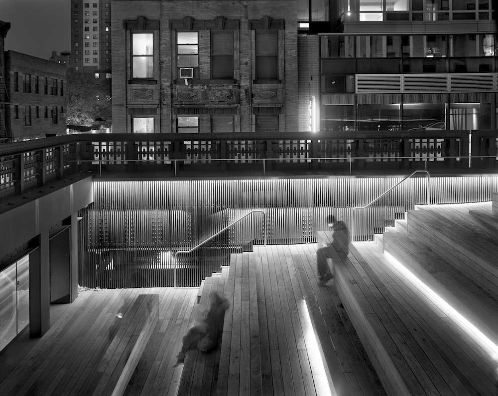 Sitting On The High Line, Thursday, November 10th, 2011