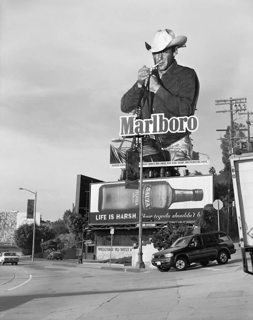 Marlboro Man, Hollywood, California, 1999