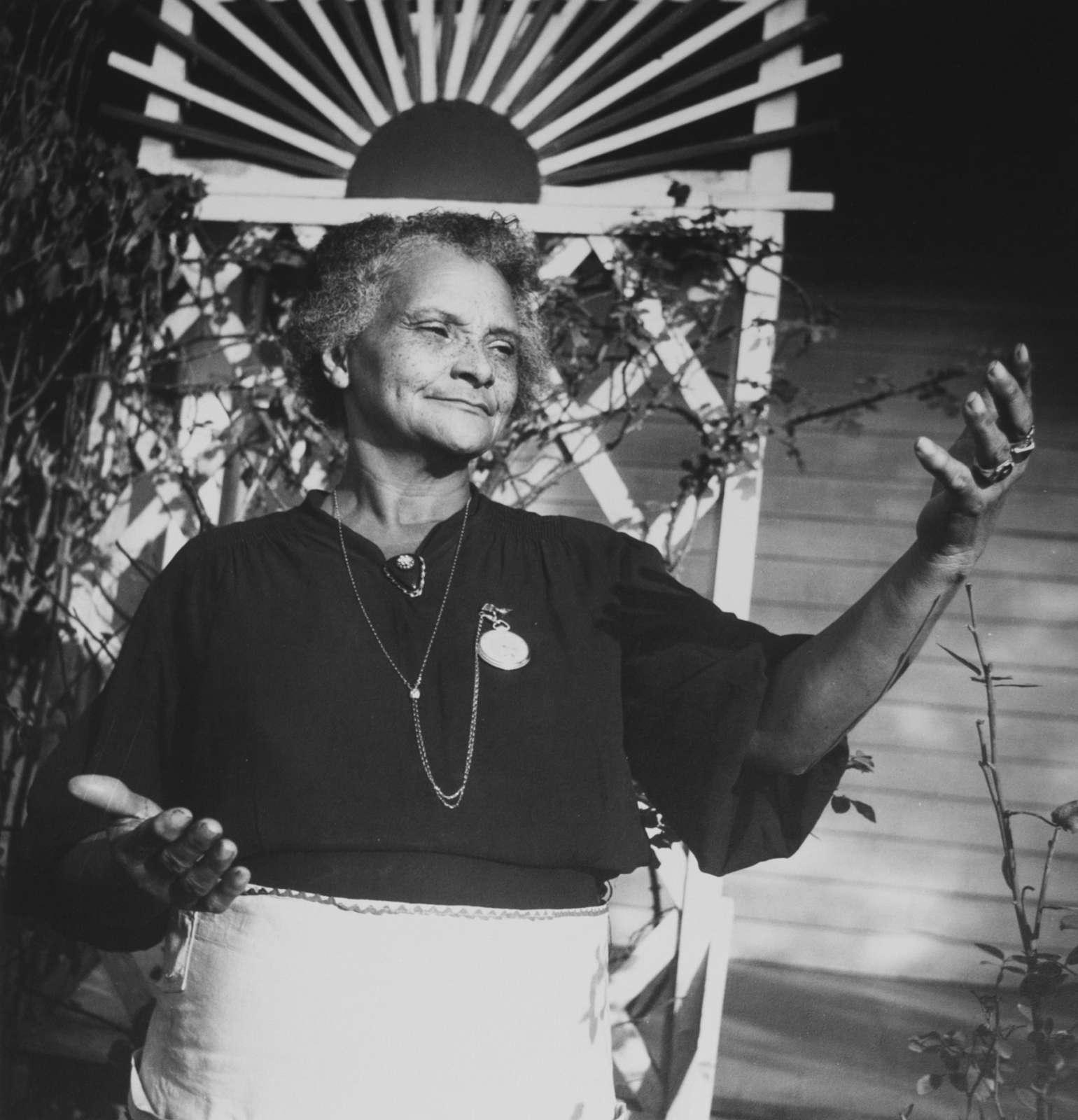 Eudora Welty, Eudora Welty Twenty Photographs Portfolio: Old Midwife (Ida M'Toy), Jackson, Mississippi, 1980