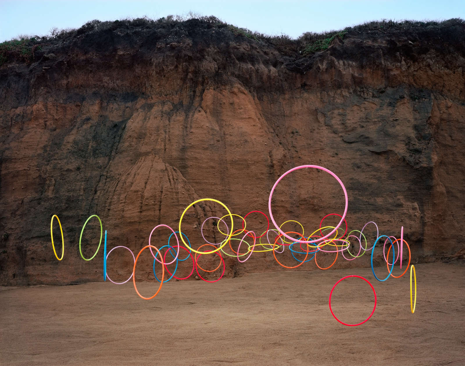 Hula Hoops no. 2, Montara, California, 2016