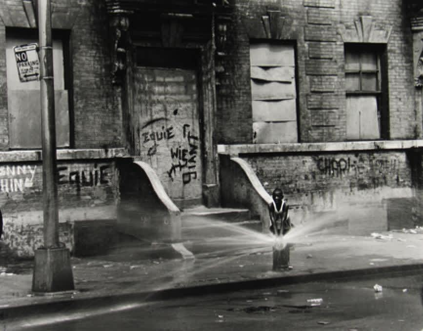 Untitled, East 100th Street (Boy and Fire Hydrant), 1966 - 68