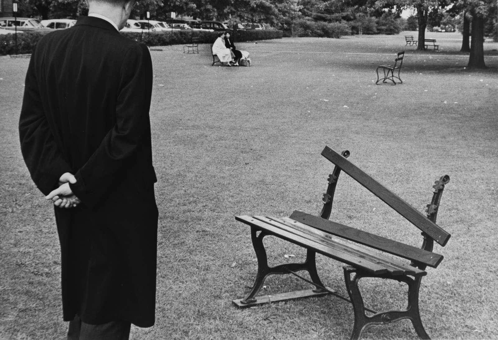 Broken Bench, NY, 1962
