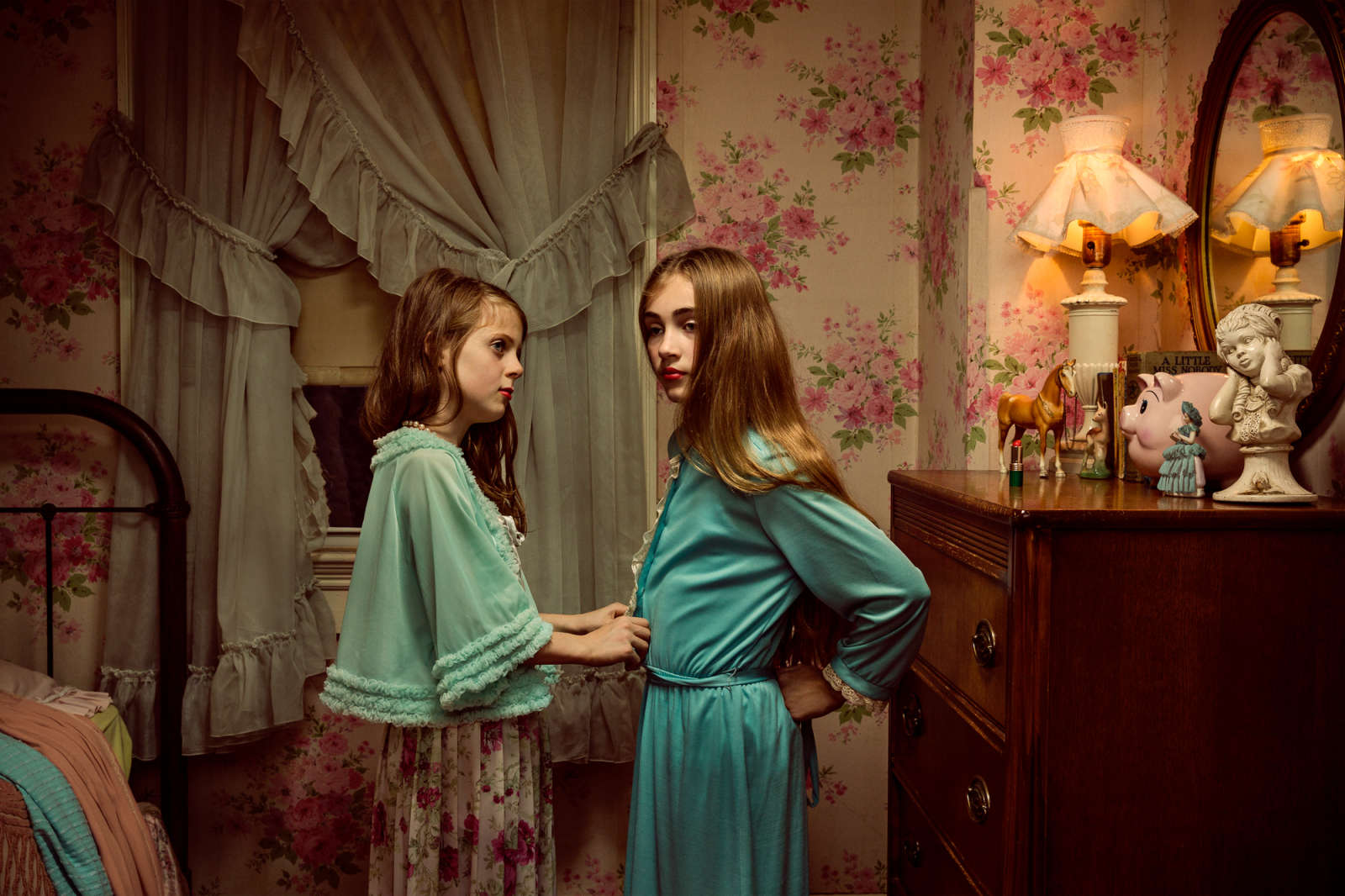 Holly Andres, Afterlight: Belmont House, from The Fallen Fawn, 2015