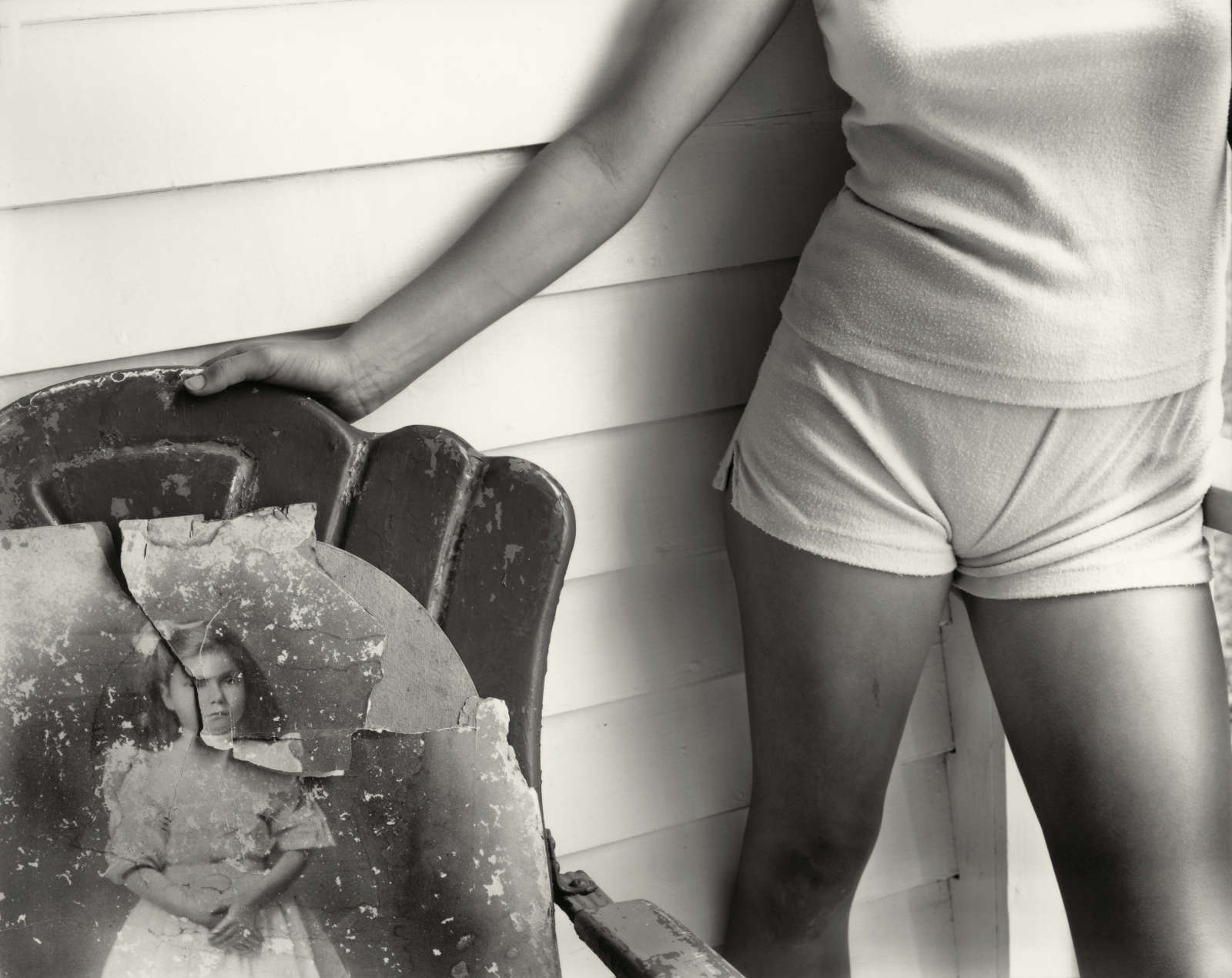 """Untitled from the """"At Twelve"""" Series, Sherry and Granny , 1983-1985"""