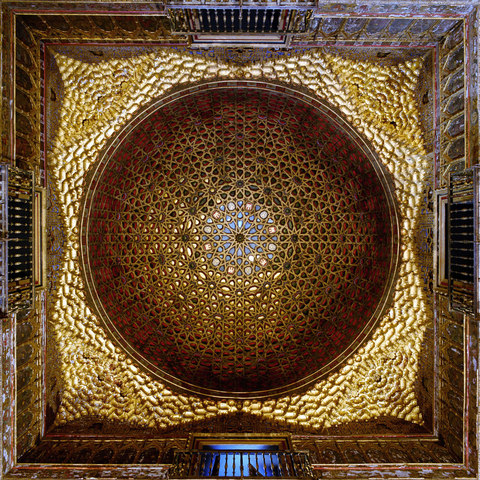 Dome #21704, Salon des Embajudores, Alcazar, Seville, Spain , 1997