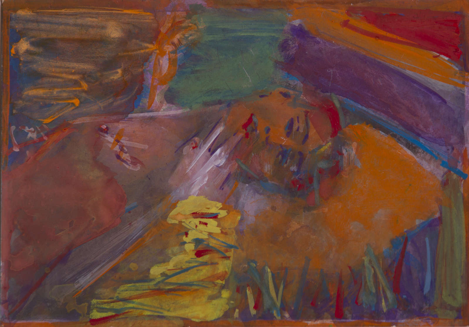 Untitled (Reclining Nude II), 1987