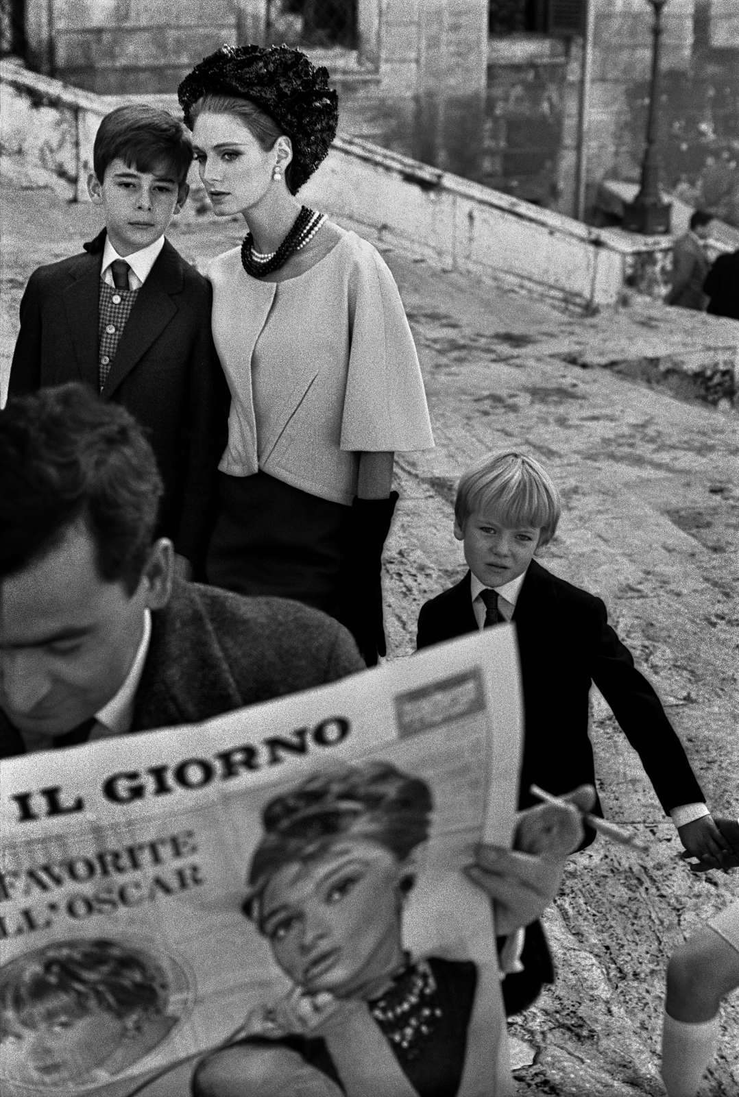 Roma, Italy for Harper's Bazaar, 1962