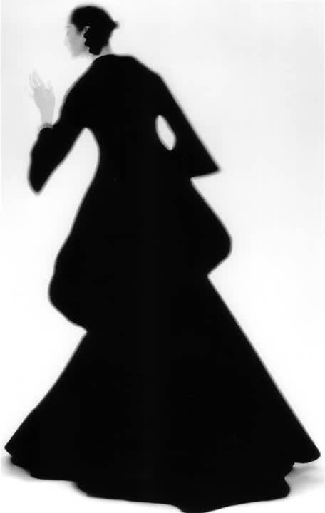 Lillian Bassman, Charles James Dress: Carmen, New York. Harper's Bazaar , 1960