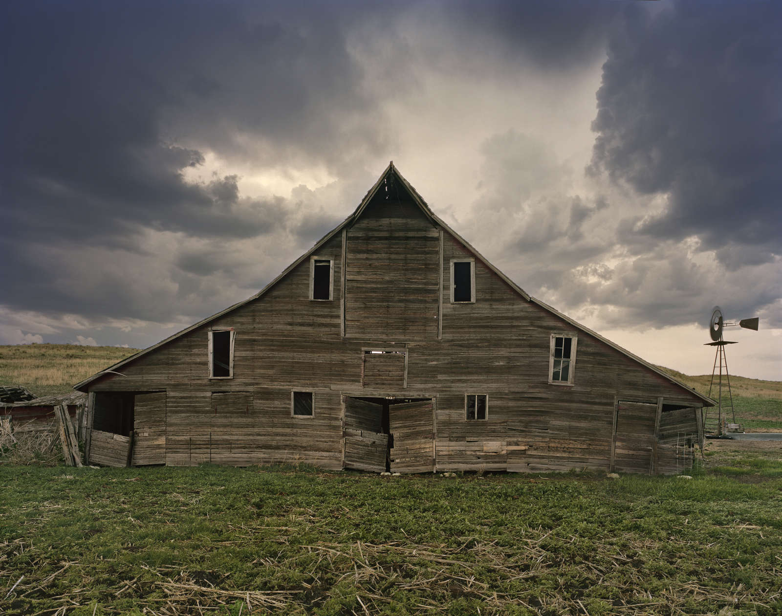 Cash Meier Barn, Cherry Country, Nebraska, 2011