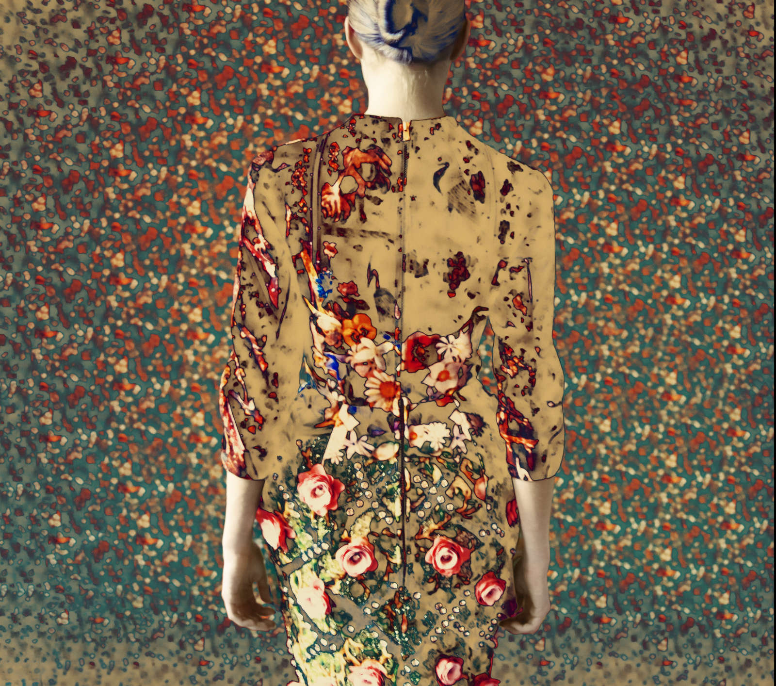 Mary Katrantzou (back), Old Future, 2011