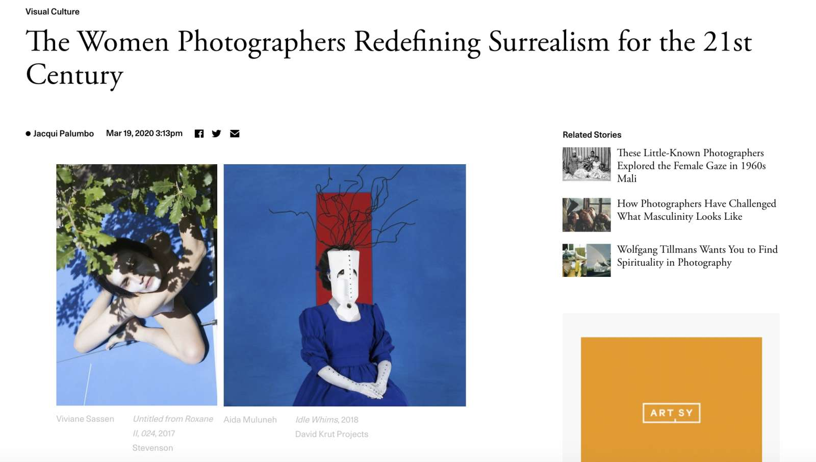 The Women Photographers Redefining Surrealism for the 21st Century