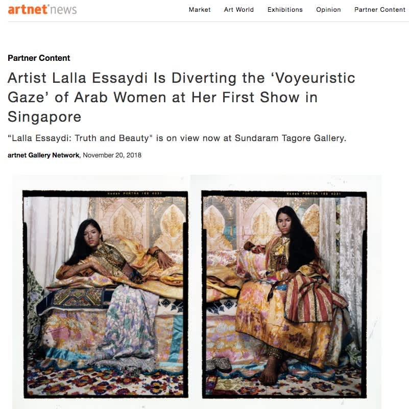 Artist Lalla Essaydi Is Diverting the 'Voyeuristic Gaze' of Arab Women at Her First Show in Singapore