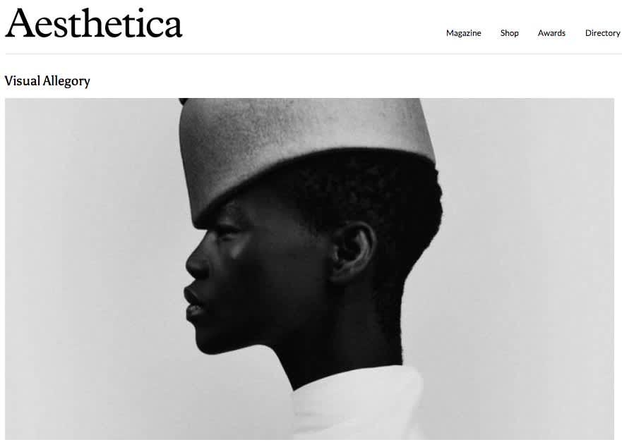 Aesthetica Featuring Bastiaan Woudt