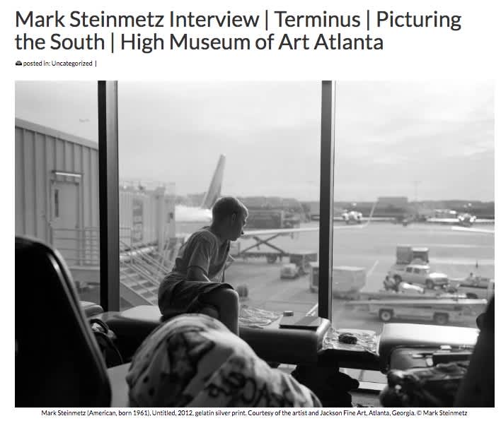 Mark Steinmetz Interview: Terminus