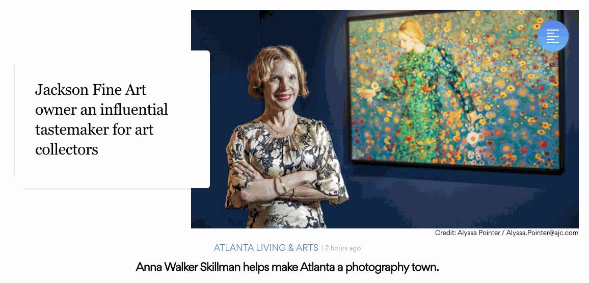 Jackson Fine Art owner an influential tastemaker for art collectors