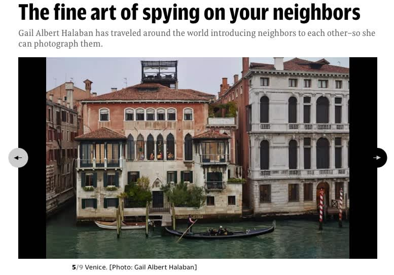 The fine art of spying on your neighbors