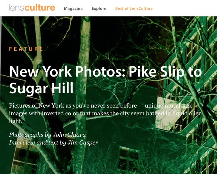 New York Photos: Pike Slip to Sugar Hill