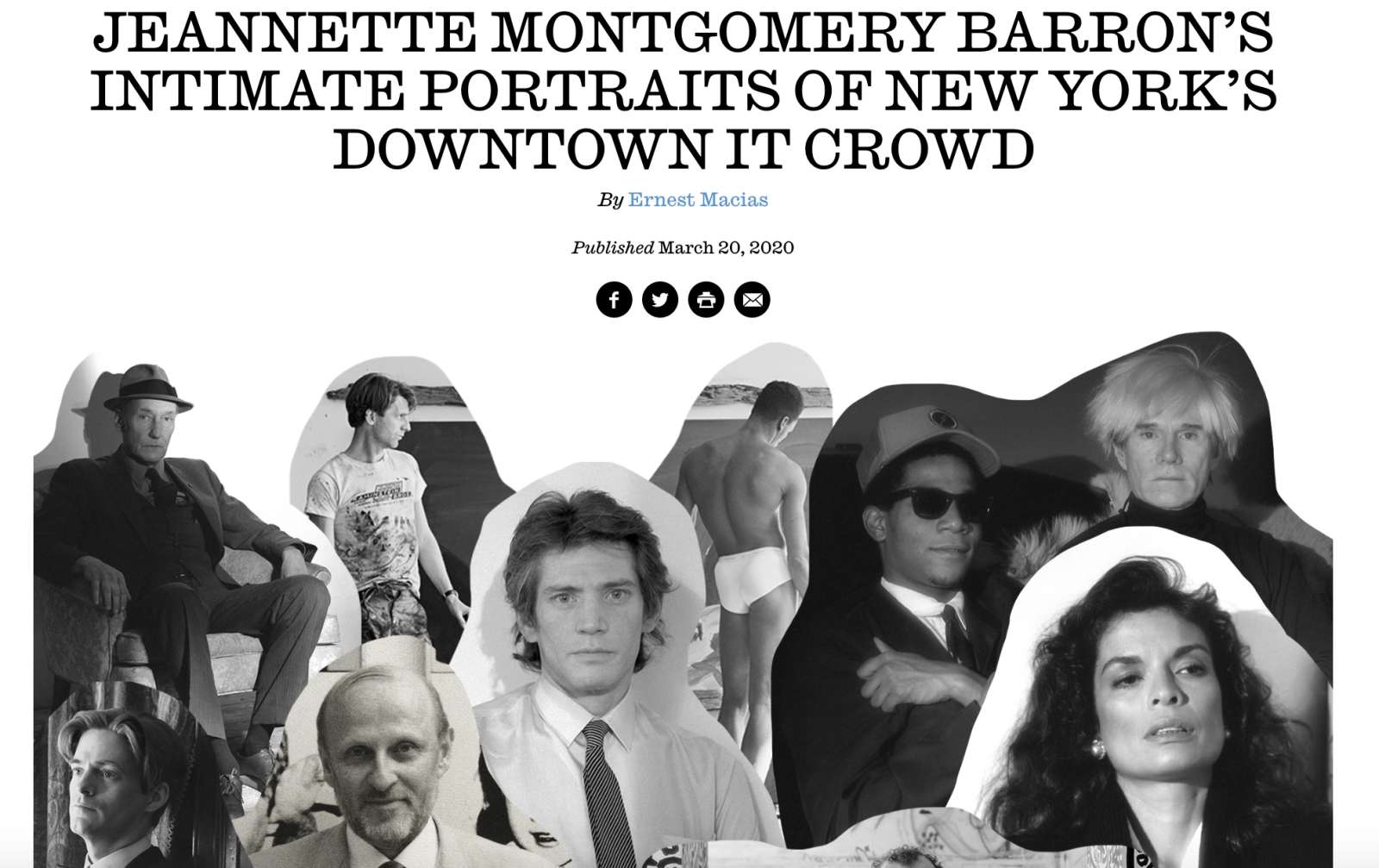 Jeannette Montgomery Barron's intimate portraits of New York's Downtown It Crowd