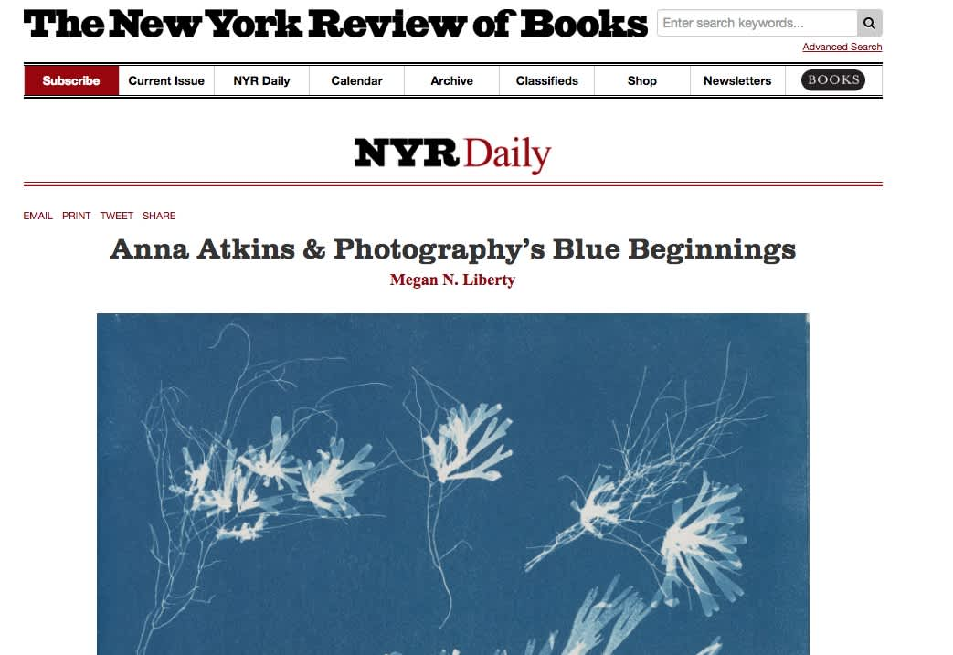 Anna Atkins & Photography's Blue Beginnings