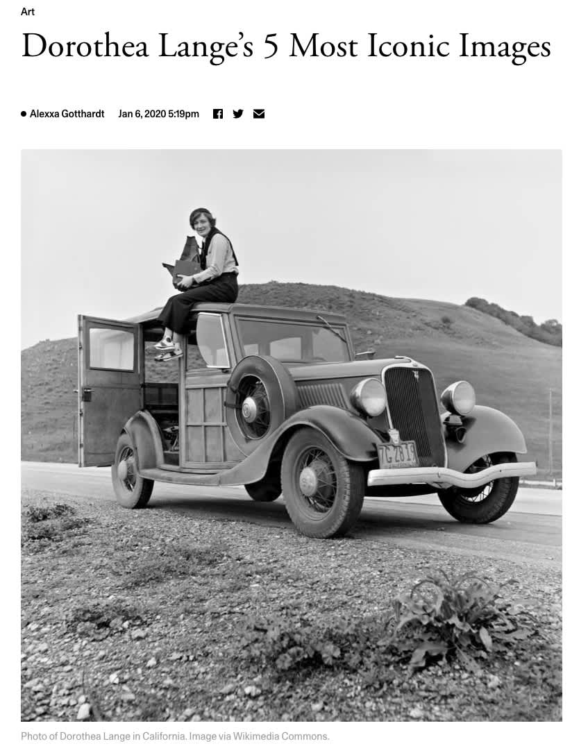 Dorothea Lange's 5 Most Iconic Images